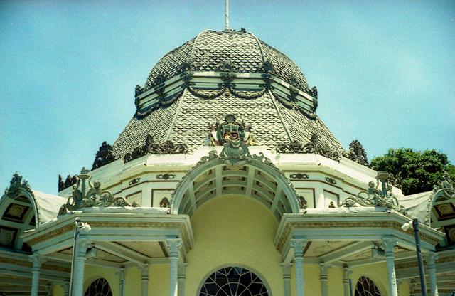 Detale del Pabellon Bizantino, Lima, Peru