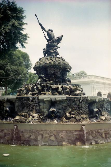 Fuente de Neptuno, Lima, Peru