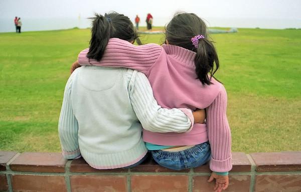 Mis hijas en el malecon