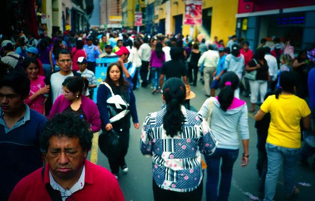 La matrix (navideña) te tiene... ,Lima, Peru
